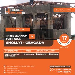 Penthouse Flat / Apartment for sale Soluyi Gbagada Lagos