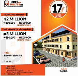 Mini flat for sale Ilaje Bariga Shomolu Lagos