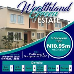 3 bedroom House for sale Oribanwa Awoyaya Ajah Lagos