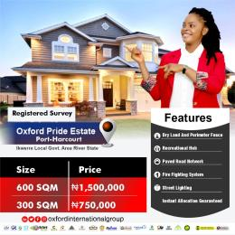 Residential Land for sale Ikwerre Rivers
