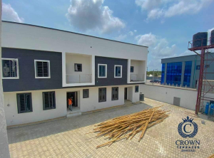 4 bedroom Terraced Duplex for sale Crown Terraces Estate Sangotedo Lagos
