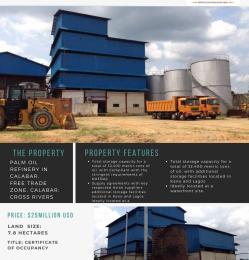 Commercial Property for sale Cross River Calabar Bonny Rivers