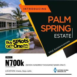 Mixed   Use Land Land for sale Opposite Lacampagne Tropicana Resort Akodo Ise Ibeju-Lekki Lagos