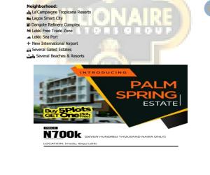 Serviced Residential Land Land for sale Imedu Ibeju lekki Orimedu Ibeju-Lekki Lagos