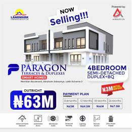 5 bedroom Terraced Duplex for sale Meridian Boulevard Estate Okun Ajah Ajah Lagos