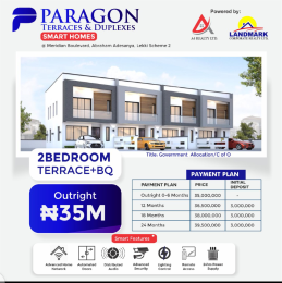 2 bedroom Terraced Duplex House for sale Inside meridian boulevard Okun Ajah Ajah Lagos