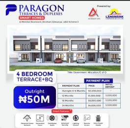 4 bedroom Terraced Duplex House for sale Meridian Boulevard Abraham adesanya estate Ajah Lagos