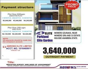Residential Land Land for sale Nkwelle Ezunaka Anambra Anambra