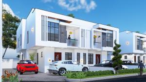 3 bedroom Terraced Duplex House for sale Okun Ajah Directly Facing Coastal Road Abraham adesanya estate Ajah Lagos