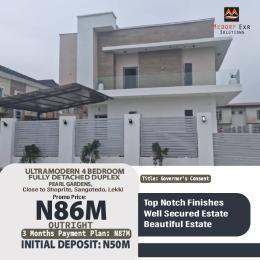 4 bedroom Detached Duplex for sale Located Close To Shoprite Sangotedo, Lekki, Monastery Road Axis. Monastery road Sangotedo Lagos