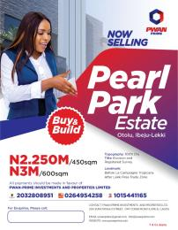 Residential Land Land for sale Itolu Community of Ibeju Lekki.  ( after Lekki Free Trade Zone and before La Campaigne Tropicana) Ibeju-Lekki Lagos