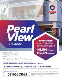 Serviced Residential Land Land for sale - Calabar Cross River