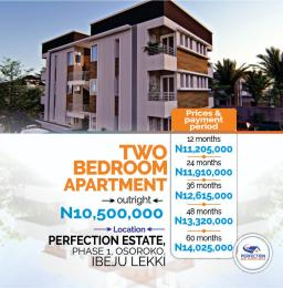 2 bedroom Blocks of Flats for sale Oshoroko Town Ibeju-Lekki Lagos