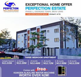 3 bedroom Blocks of Flats for sale Oshoroko Town, 3bedroom Apartment Ibeju-Lekki Lagos