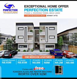 1 bedroom Blocks of Flats for sale Oshoroko Town, Perfection Estate Phase 1 Ibeju-Lekki Lagos