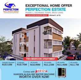 2 bedroom Blocks of Flats for sale Oshoroko Town, Perfection Estate Phase 1 Ibeju-Lekki Lagos