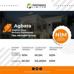 Land for sale Agbara Mogbon town Badagry expressway Magbon Badagry Lagos