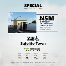5 bedroom Mixed   Use Land Land for sale Vip Gardens Satellite Town, Amuwo Odofin Axis. Satellite Town Amuwo Odofin Lagos