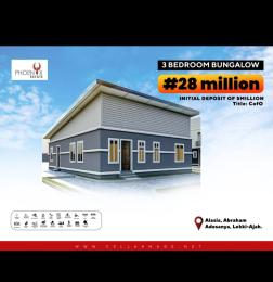 3 bedroom Semi Detached Bungalow House for sale Alasia be4 lbs Abraham adesanya estate Ajah Lagos
