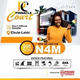 Residential Land Land for sale Ebute Lekki, Along Eleko/akodo Road, Lekki Town, Ibeju Lekki, Lagos. Lekki Phase 1 Lekki Lagos