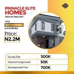 Residential Land Land for sale Okun Ise, Ibeju Lekki Lagos Ibeju-Lekki Lagos