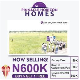 Residential Land Land for sale Ode-Omi Free Trade Zone. Ibeju-Lekki Lagos