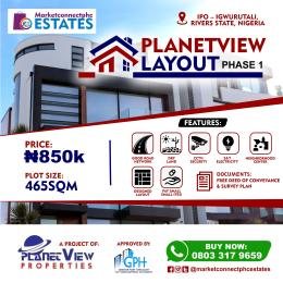 Residential Land Land for sale School Road, Ipo-Igwurutali  Ikwerre Rivers