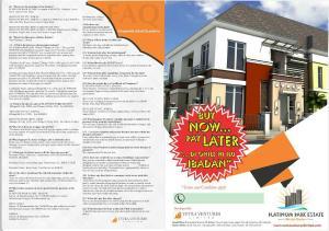 Land for sale Opposite Alabata Grammar School. Moniya Ibadan Oyo