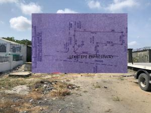 Commercial Land Land for sale Lekki Epe expressway before Lagos business school  Ajah Lagos