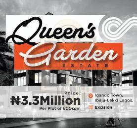 Residential Land for sale Queens Garden Eleko Ibeju-Lekki Lagos