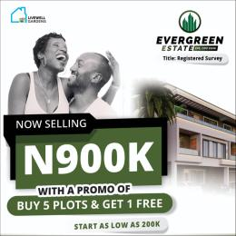 Residential Land Land for sale Evergreen Estate Epe Road Epe Lagos