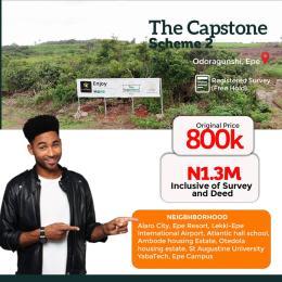 Residential Land Land for sale The Capstone 2, Odo Iragunshi, Epe Epe Lagos