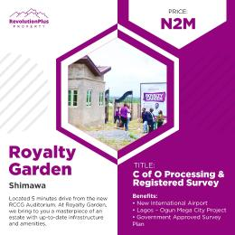 Residential Land Land for sale Shimawa, Near The New Auditorium Mowe Obafemi Owode Ogun
