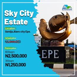 Residential Land Land for sale Sky City Estate, Ilamija, 3 Minutes From Alaro City Epe Road Epe Lagos