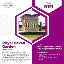 Residential Land Land for sale Royal Haven Garden, Mowe Ofada Mowe Obafemi Owode Ogun