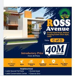 Residential Land for sale Ross Avenue Estate, Off Orchid Road, Chevron Ikota Lekki Lagos