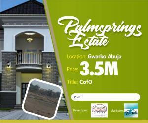 Residential Land Land for sale Adjacent TY Danjuma Academy Gwagwalada Abuja