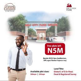 Residential Land for sale Behind Rccg New Auditorium Mowe Obafemi Owode Ogun