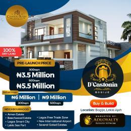Residential Land for sale D'castionia Estate, Off Lekki Epe Expressway, Before Eleko Junction Bogije Sangotedo Lagos