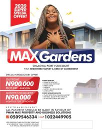 Mixed   Use Land Land for sale Omagwa  Port Harcourt Rivers