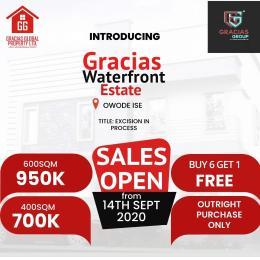 Residential Land Land for sale Gracias waterfront estate  Akodo Ise Ibeju-Lekki Lagos