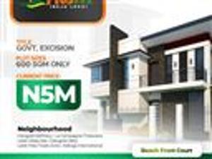 Residential Land Land for sale Beachfront Courts, Akodo Free Trade Zone Ibeju-Lekki Lagos