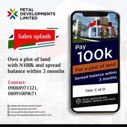 Residential Land Land for sale Egbeda, Ibadan. Before coca cola. Ibadan north west Ibadan Oyo