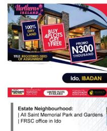 Residential Land Land for sale 5 Minutes From FRSC office in Ido Ido Oyo