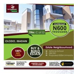Mixed   Use Land Land for sale Around the popular Airforce School Iwo Rd Ibadan Oyo