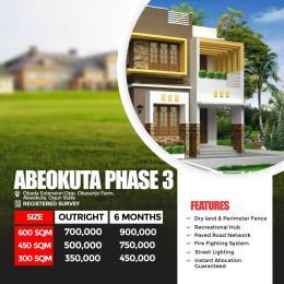 Residential Land Land for sale Obada Extension, Opp. Obasanjo Farm Oke Ijeun Abeokuta Ogun