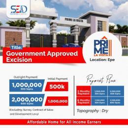 Residential Land Land for sale Prime La Vista Estate, Close To Epe Resort Epe Lagos