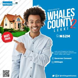 Residential Land for sale Whales County Estate 2, Orchid Road, Chevron Toll Gate Ikota Lekki Lagos