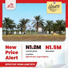 Residential Land Land for sale Ideal Gardens, Igbonla, Close To Augustine University Epe Lagos