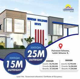 Land for sale Meridian Boulevard Estate, Off Abraham Adesanya Okun Ajah Ajah Lagos